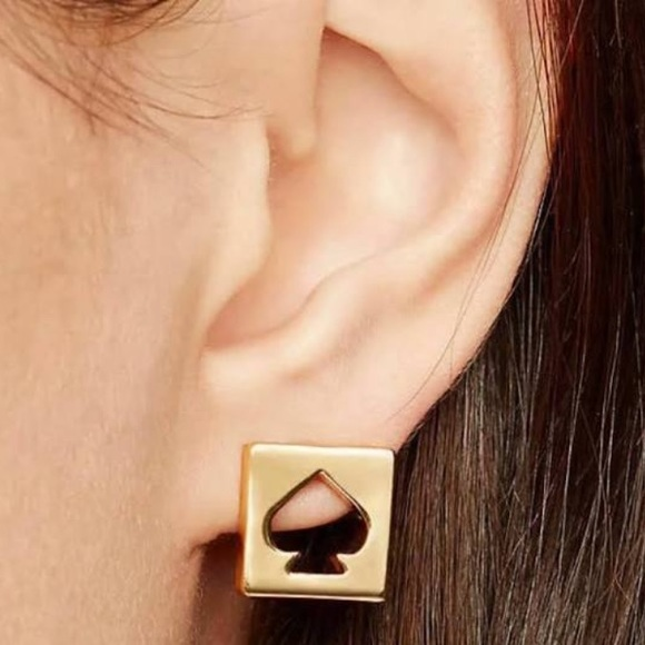 Kate Spade punch out earrings